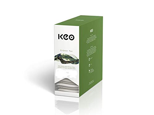 Keo Tee - GRÜNER TEE - 15 Teachamps im Aromakuvert