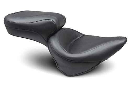 Mustang Seats 75073 Black 00-05 FXST,00-07 FLST Motorcycle Seat