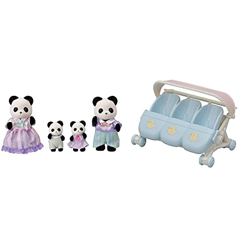 Sylvanian Families 5529 Familia Panda Pookie + 5529 Familia Panda Pookie