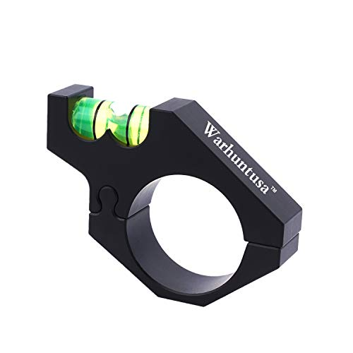 Spirit Level Rifle Scope Bubble Level Fits 1inch / 30mm Rifle Scope Tubes for Precision Shooting...