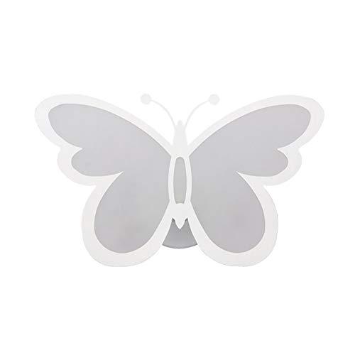 Led Moderno Mariposa Acrílico Apliques De Pared,Pared Decoración Luces-ajustable Aplique Pared,Creativo Hada Lampara De Pared Para Dormitorio De Niños Dormitorio-