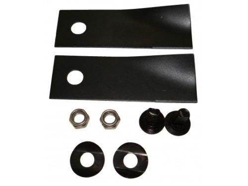 Rasenmähermesser & Schrauben-Zubehör: Hochwertiges Ersatzteil für Rover (46cm & 51cm)