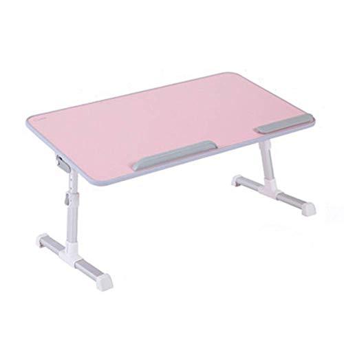 Mutmi Mesa portátil, Ordenador de Mesa Regulable para una Cama, un sofá y el Suelo, un Ordenador portátil para la Lectura o el Desayuno y una Mesa de Tablero de Dibujo Ordenador portátil.