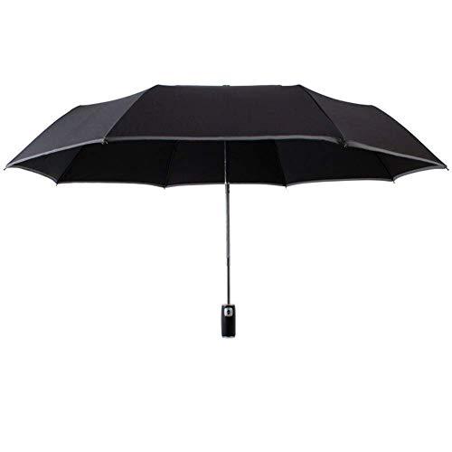 Paraguas Paraguas y Paraguas doblado Paraguas se abren automáticamente, fácil de Evitar Impermeables