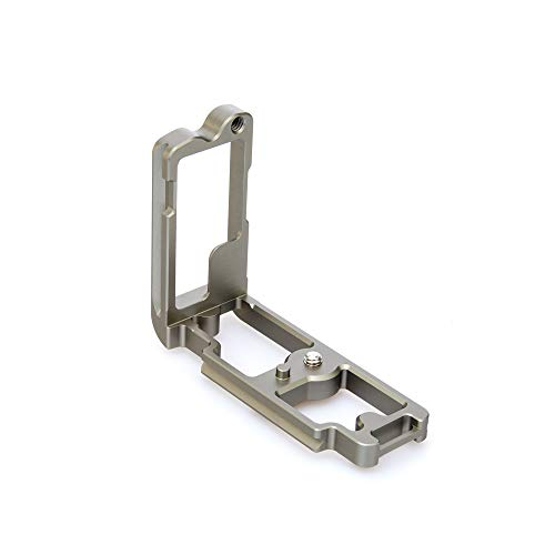 3 Legged Thing Zelda L- Bracket for Nikon z Series Cameras - Slate Grey Arca Swiss Compatible with FTZ Adapter