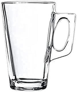 Hauskraft CAIC-001 Caneca de Cappuccino em Vidro, Transparente, 235 ml