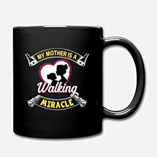 'My Mother is a Walking Miracle Mother's Day' gåva – mors dag mugg 325 ml
