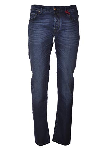 Jacob Cohen, Fünf Tasche, Beine Stretta, J62200787w34801V-Jeans5Tasche-003LavMedioScuro, Blau 26