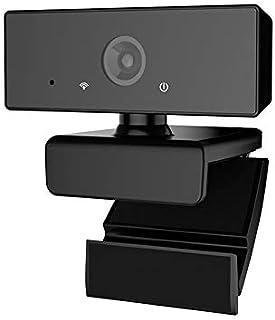 Webcam HD 1080p Web Camera, USB PC Computer Webcam with Microphone, 110 Degree Wide-Angle Lens, Laptop Desktop Full HD Cam...