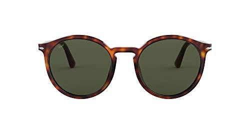 Persol 0PO3214S Gafas de sol, Wrap, 53, Havana