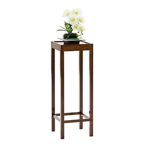 LYN bloemenrek, bloementrap, houten tafel, spin, bijzettafel, design bloemenrek, plank, pannenlappen