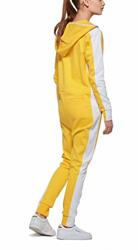 OnePiece Damen Jumpsuit Racer, Gelb (Yellow) - 2