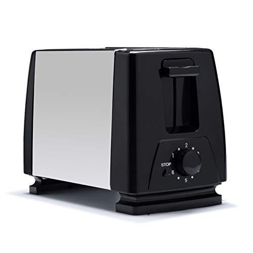 HWNGDI 2 rebanadas de Acero Inoxidable tostadora automática calefacción rápida de Pan tostadora de Pan de Desayuno hogar de Desayuno Sonifer Acero Inoxidable (Color : EU Adapter)