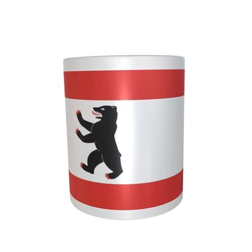 U24 Tasse Kaffeebecher Mug Cup Flagge Berlin