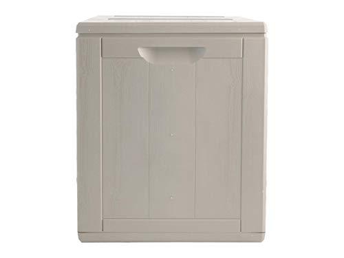 Gensini 3000.00.A1233 - Maletero, gris, plástico, 43 x 44 x 51 cm, 90 L