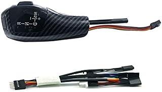 مقبض ناقل السرعات - مقبض ناقل بديل من جلد البولي يوريثان لأجهزة E39 96-03 E38 95-01 X5 E53 04-06 إكسسوارات ليد مقبض ناقل ا...