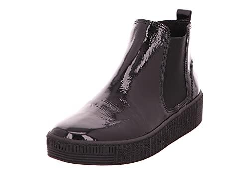 Gabor Damen Chelsea Boots, Frauen Stiefeletten,Wechselfußbett,Best Fitting,Women's,Woman,Lady,Ladies,Boots,Stiefel,schwarz (schwarz),41 EU / 7.5 UK