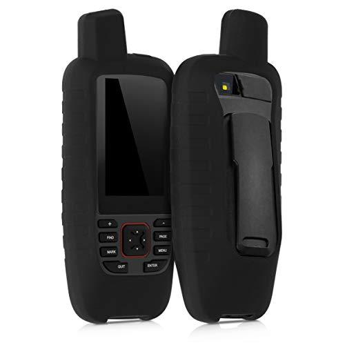 kwmobile Cover in silicone compatibile con Garmin GPSMAP 86s / 86sc - Custodia protettiva antiscivolo compatibile con dispositivi GPS di navigazione - Protezione navigatore