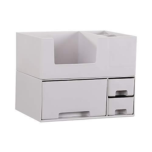 Cosmétiques boîte à bijoux Boîte De Rangement/Boîte À Bijoux De Grande Capacité For Produits De Beauté À La Maison (Color : Gray)