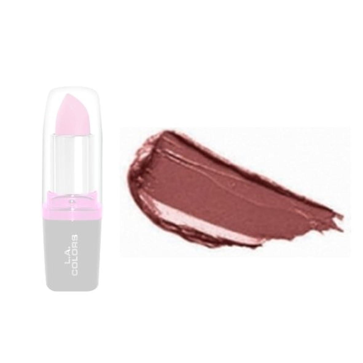 延期するリテラシー蛇行(3 Pack) LA Colors Hydrating Lipstick - Mauvey (並行輸入品)