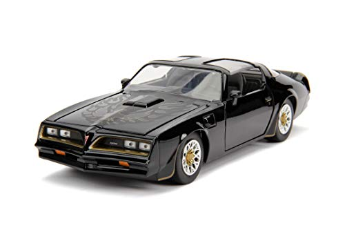 Jada Toys 253203041 Fast & Furious Tego's 1977 Pontiac Firebird, Auto, Tuning-Modell im Maßstab 1:24, zu öffnende Türen, Motorhaube und Kofferraum, Freilauf, schwarz
