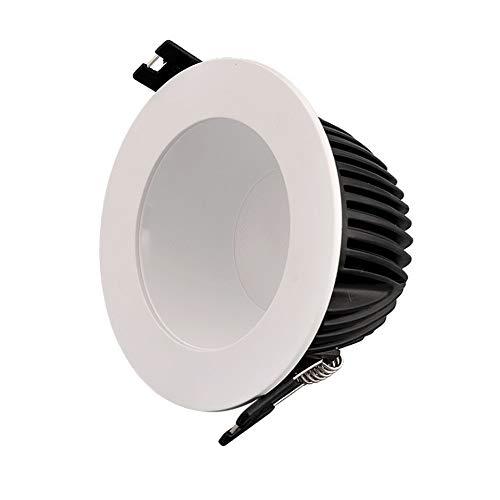 GYZLZZB 5 confezioni ad alta luminosità risparmio energetico PORTATO Faretto da incasso CRI80 60. Angolo di illuminazione della laurea. PANNOCCHIA Downlight. AC85-265V. Ampia pressione 7. 5LM / W. Pla