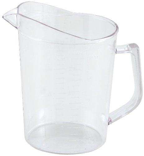 Winco Polycarbonate Measuring Cup, 1-Quart