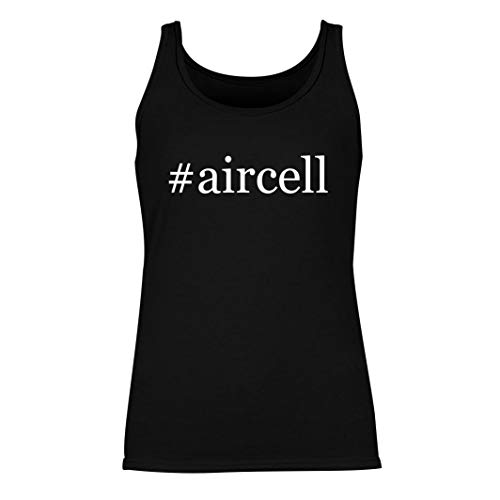 #aircell - Women's Hashtag Summer Tank Top, Black, Large