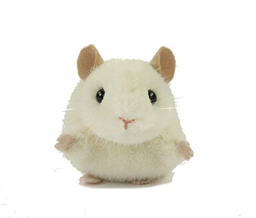 Teddys Rothenburg Kösen, Maus, Pieps, 10 cm, liegend, weiß, Plüschmaus
