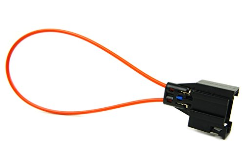 RKX MOST fiber optic optical loop bypass Female adapter for Radio and Audio compatible with Mercedes, BMW, Audi, Porsche and Volvo