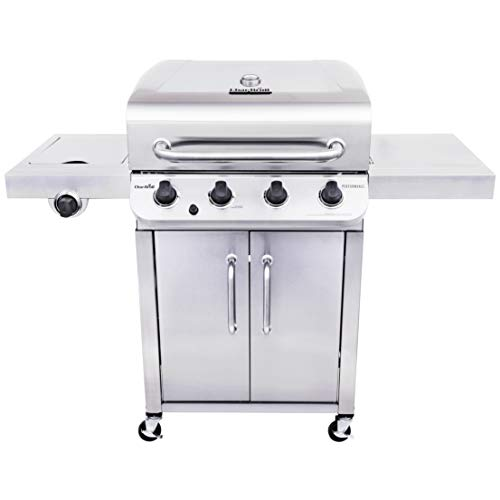 professional Char-Broil 463375919 High Performance LPG Gas Grill Stainless Steel 4 Burner