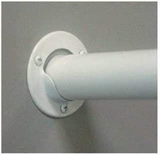 Knape & Vogt Closet Pole Socket White 1-3/8