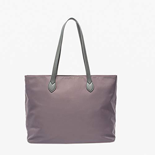 N / B wasserdichte Canvas-Schulter-Taschen-Tasche, Multi-Tasche, leichte Baumwolle, anwendbare Totaily-Lieferungen, problemlos aufnehmen Laptop, Reisen, Strand, Shopping