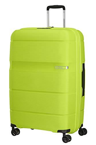 American Tourister Linex - Maleta, talla L (76 cm, 102 L), Verde (Key Lime)