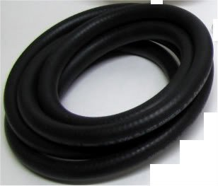 10ft REINFORCED BRAIDED 3/8 FUEL HOSE HHO DRY CELL HYDROGEN GENERATOR LINE BLACK