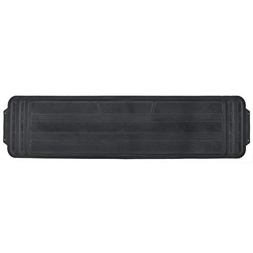 Motor Trend Odorless Rear Seat Runner Rubber Floor Mat Liner for 2nd or 3rd Row...