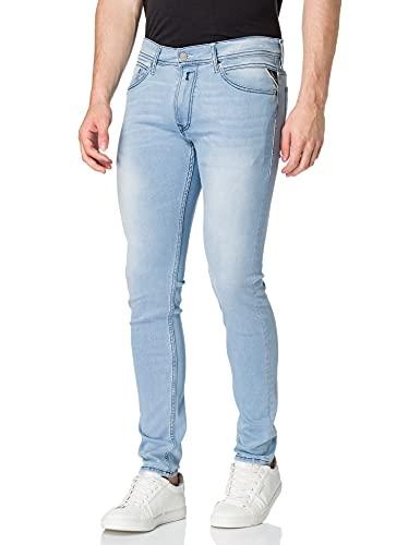 REPLAY Jondrill Jeans, 010 Light Blue, 33W x 30L Uomo