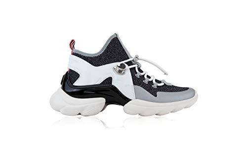 Moncler Thelma - Zapatillas deportivas para mujer Negro Size: 39 EU