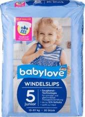 babylove Pants Windelslips Größe 5 junior, 13-20kg, 1 x 20 St