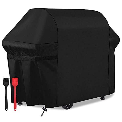 fitibest Copertura Barbecue Impermeabile Cover per Barbecue Resistente Telo Copri Protettivo per BBQ 420D Grill Anti Pioggia Polvere Sole Neve Tessuto Oxford 147 * 61 * 122CM