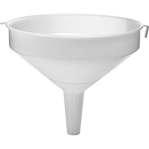 Browin Embudo grande de 22-25-31 cm de diámetro, embudo de plástico, globo de cristal (31 cm de diámetro)