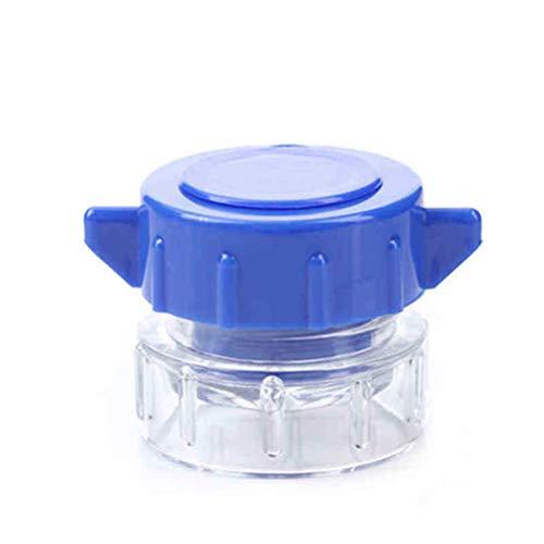 SuPVOX Tablettenzerkleinerer mit Kunststoffbehälter, multifunktional, tragbar, blau