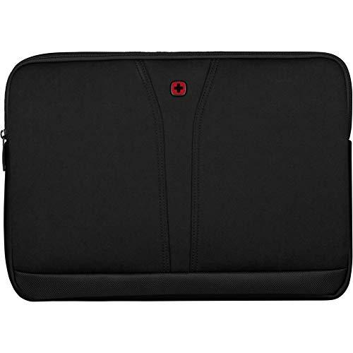 WENGER BC Fix, Neoprene 15.6'' Laptop Sleeve, Black (R)