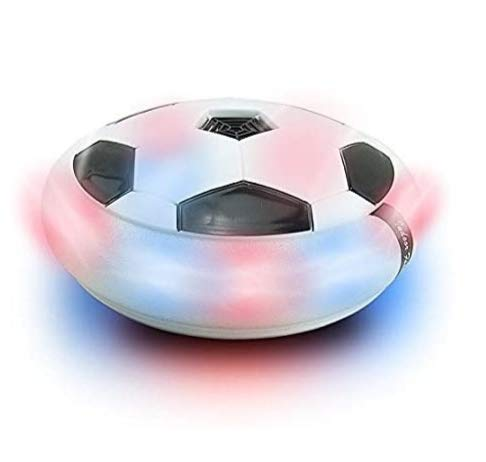 Vikas Gift Gallery Indoor Football Sport Toys The Ultimate Soccer Game, with Multi Lighting Feature -Magic Hover Football Toy Indoor Play Game Best Toy for Kid