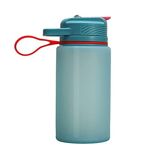 WYDMBH Botella de Agua Plegable Botellas de Agua 1L Plegables PÁGINAS Taza de Frasco Blando de Silicona Tetera de Deporte al Aire Libre Ciclismo Correr Botella de Agua Botella de Agua Botella de Agua