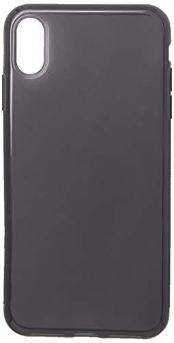 "Capa para Iphone Xs Max 6.5"" Polegadas, Cell Case, Capa Protetora Flexível, Fumê"