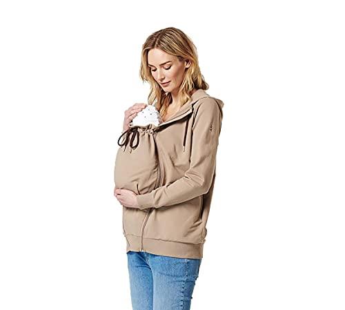 ESPRIT Maternity Damen Jacket Sweatjacke Umstandsjacke Parker zusätzlichen Einsätze Jacke 1870213-34