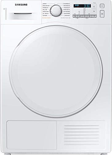 Samsung DV9FTA040DW/EG Wärmepumpentrockner 9 kg / A++ / Digital Inverter Motor mit 10 Jahren Garantie / Knitterschutz / Komfort 2-in-1 Filter und Optimal Dry