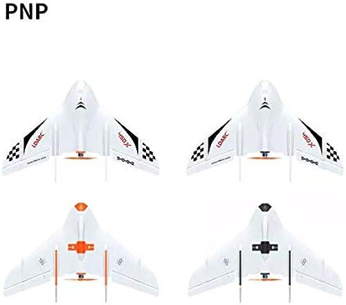 DERNON Tiny Wing 450X FPV Starrflügel PNP SpannWeiße Fernbedienung Modell Flugzeugflügel Weiß