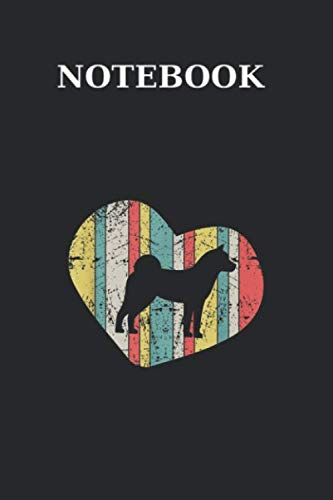 Notebook: Retro Vintage Akita Inu Heart Blank Lined Workbook for Teens Kids Students Girls for Home School College Note120 Pages Perfect Funny Gift Journal Size 6x9 In PDF Books